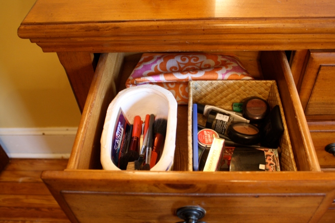 Make Up Drawer... Every girl should have one!
