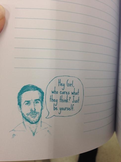 ryan gossling diary